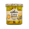 Premium Gherkin bits with curry 363 ml